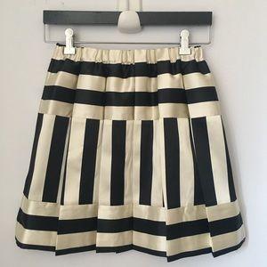 J crew Crewcuts girls striped skirt